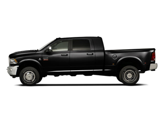 Brilliant Black Crystal Pearl 2011 Ram Truck 3500 Pictures 3500 Mega Cab Longhorn 4WD photos side view