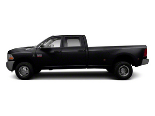Brilliant Black Crystal Pearl 2011 Ram Truck 3500 Pictures 3500 Crew Cab Longhorn 4WD photos side view