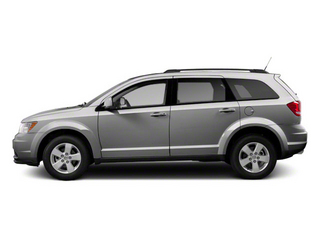 Bright Silver Metallic 2011 Dodge Journey Pictures Journey Utility 4D Crew 2WD photos side view