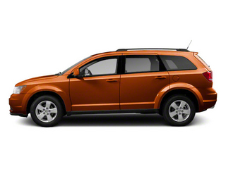 Mango Tango Pearl 2011 Dodge Journey Pictures Journey Utility 4D Crew 2WD photos side view