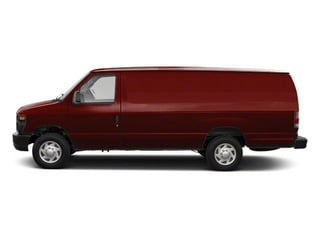 Royal Red Metallic 2011 Ford Econoline Wagon Pictures Econoline Wagon Super Duty Extended Wagon XLT photos side view
