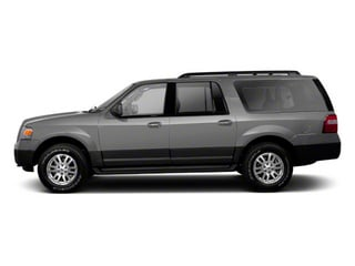 Ingot Silver Metallic 2011 Ford Expedition EL Pictures Expedition EL Utility 4D XL 4WD photos side view