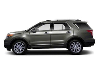 Sterling Grey Metallic 2011 Ford Explorer Pictures Explorer Utility 4D XLT 2WD photos side view