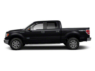 Black 2011 Ford F-150 Pictures F-150 SuperCrew King Ranch 2WD photos side view