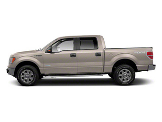 White Platinum Metallic Tri-Coat 2011 Ford F-150 Pictures F-150 SuperCrew King Ranch 2WD photos side view