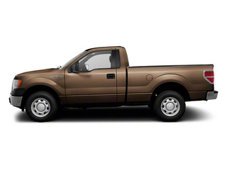 Pale Adobe Metallic 2011 Ford F-150 Pictures F-150 Regular Cab XLT 2WD photos side view