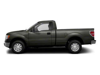 Sterling Gray Metallic 2011 Ford F-150 Pictures F-150 Regular Cab XLT 2WD photos side view