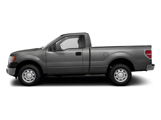Ingot Silver Metallic 2011 Ford F-150 Pictures F-150 Regular Cab XLT 2WD photos side view