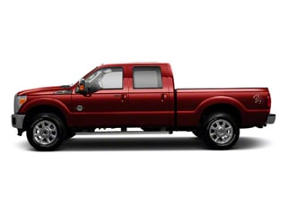 Vermillion Red 2011 Ford Super Duty F-250 SRW Pictures Super Duty F-250 SRW Crew Cab XLT 2WD photos side view