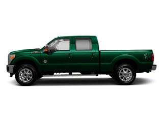 Forest Green Metallic 2011 Ford Super Duty F-250 SRW Pictures Super Duty F-250 SRW Crew Cab XLT 2WD photos side view