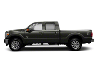 Sterling Gray Metallic 2011 Ford Super Duty F-250 SRW Pictures Super Duty F-250 SRW Crew Cab XLT 2WD photos side view