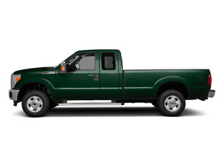 Forest Green Metallic 2011 Ford Super Duty F-250 SRW Pictures Super Duty F-250 SRW Supercab XL 2WD photos side view