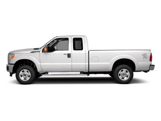 Oxford White 2011 Ford Super Duty F-250 SRW Pictures Super Duty F-250 SRW Supercab XL 2WD photos side view