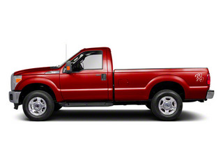 Vermillion Red 2011 Ford Super Duty F-250 SRW Pictures Super Duty F-250 SRW Regular Cab XL 4WD photos side view