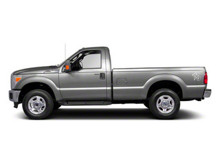 Ingot Silver Metallic 2011 Ford Super Duty F-250 SRW Pictures Super Duty F-250 SRW Regular Cab XL 4WD photos side view