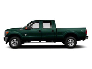 Forest Green Metallic 2011 Ford Super Duty F-350 DRW Pictures Super Duty F-350 DRW Crew Cab XL 2WD photos side view