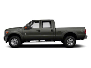 Sterling Gray Metallic 2011 Ford Super Duty F-350 DRW Pictures Super Duty F-350 DRW Crew Cab XL 2WD photos side view