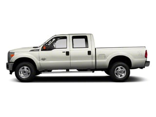 Oxford White 2011 Ford Super Duty F-350 DRW Pictures Super Duty F-350 DRW Crew Cab XL 2WD photos side view