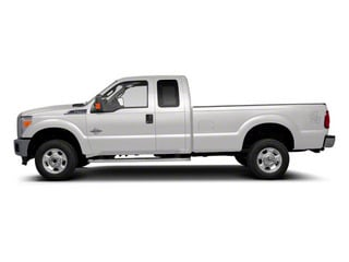 Oxford White 2011 Ford Super Duty F-350 DRW Pictures Super Duty F-350 DRW Supercab XLT 2WD photos side view
