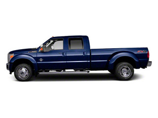 Dark Blue Pearl Metallic 2011 Ford Super Duty F-450 DRW Pictures Super Duty F-450 DRW Crew Cab Lariat 4WD T-Diesel photos side view