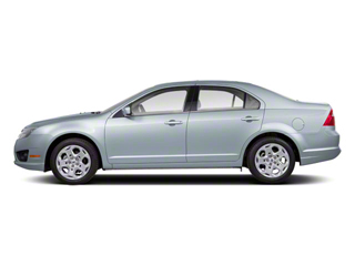 Light Ice Blue Metallic 2011 Ford Fusion Pictures Fusion Sedan 4D Hybrid photos side view