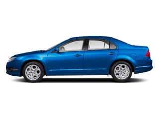 Blue Flame Metallic 2011 Ford Fusion Pictures Fusion Sedan 4D Sport AWD photos side view