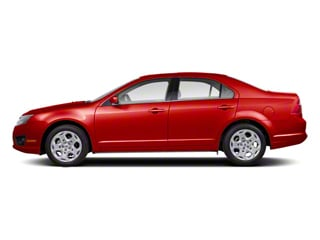 Red Candy Metallic Tinted 2011 Ford Fusion Pictures Fusion Sedan 4D Sport AWD photos side view