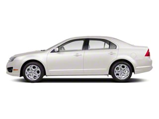 White Platinum Metallic Tri-Coat 2011 Ford Fusion Pictures Fusion Sedan 4D Hybrid photos side view