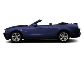 Kona Blue Metallic 2011 Ford Mustang Pictures Mustang Convertible 2D GT photos side view