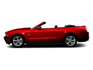 Race Red 2011 Ford Mustang Pictures Mustang Convertible 2D GT photos side view
