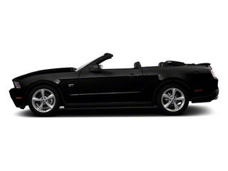 Black 2011 Ford Mustang Pictures Mustang Convertible 2D GT photos side view