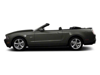 Sterling Grey Metallic 2011 Ford Mustang Pictures Mustang Convertible 2D GT photos side view