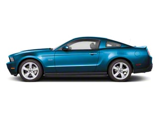 Grabber Blue 2011 Ford Mustang Pictures Mustang Coupe 2D Shelby GT500 photos side view