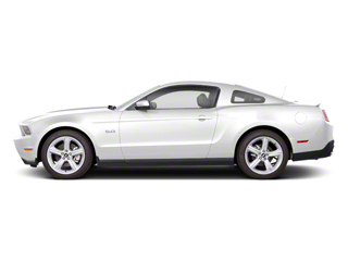 Performance White 2011 Ford Mustang Pictures Mustang Coupe 2D Shelby GT500 photos side view