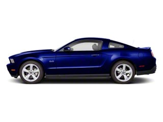 Kona Blue Metallic 2011 Ford Mustang Pictures Mustang Coupe 2D Shelby GT500 photos side view