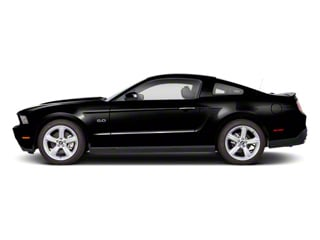 Black 2011 Ford Mustang Pictures Mustang Coupe 2D Shelby GT500 photos side view