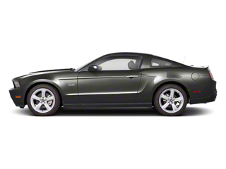 Sterling Grey Metallic 2011 Ford Mustang Pictures Mustang Coupe 2D Shelby GT500 photos side view