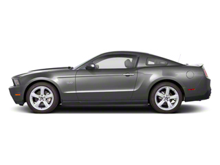 Ingot Silver Metallic 2011 Ford Mustang Pictures Mustang Coupe 2D Shelby GT500 photos side view