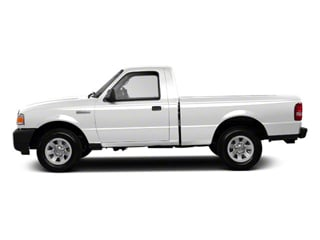 Oxford White 2011 Ford Ranger Pictures Ranger Regular Cab XL photos side view