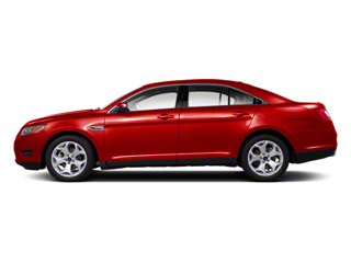 Red Candy Metallic Tinted 2011 Ford Taurus Pictures Taurus Sedan 4D Limited photos side view