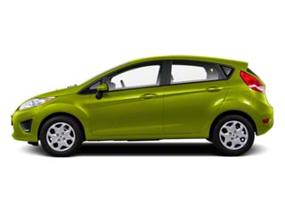 Lime Squeeze Metallic 2011 Ford Fiesta Pictures Fiesta Hatchback 5D SE photos side view