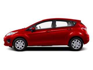 Red Candy Metallic 2011 Ford Fiesta Pictures Fiesta Hatchback 5D SE photos side view