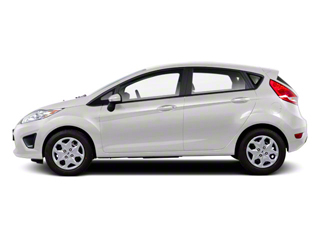 Oxford White 2011 Ford Fiesta Pictures Fiesta Hatchback 5D SE photos side view