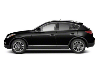 Black Obsidian 2011 INFINITI EX35 Pictures EX35 Wagon 4D Journey AWD photos side view