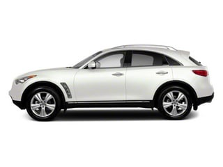 Moonlight White 2011 INFINITI FX50 Pictures FX50 FX50 AWD photos side view