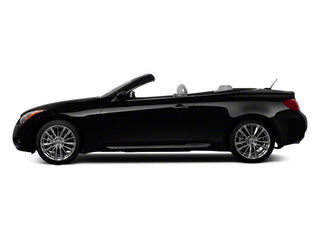 Black Obsidian 2011 INFINITI G37 Convertible Pictures G37 Convertible Convertible 2D 6 Spd photos side view