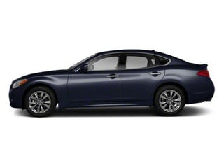 Blue Slate 2011 INFINITI M56 Pictures M56 Sedan 4D photos side view