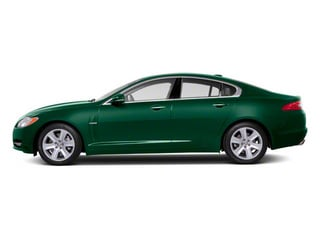 Botanical Green 2011 Jaguar XF Pictures XF Sedan 4D Supercharged photos side view