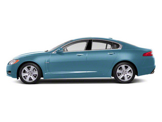 Frost Blue 2011 Jaguar XF Pictures XF Sedan 4D photos side view