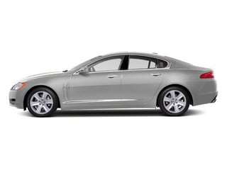 Liquid Silver 2011 Jaguar XF Pictures XF Sedan 4D photos side view